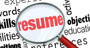 Resume Tips RAM Training Services