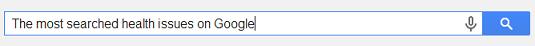 Google Health Searches